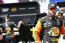 June 1, 2018 - Long Pond, Pennsylvania, United States of America - Martin Truex, Jr (78) hangs out on pit road prior to qualifying for the Pocono 400 at Pocono Raceway in Long Pond, Pennsylvania. (Credit Image: © Justin R. Noe Asp Inc/ASP via ZUMA Wire)