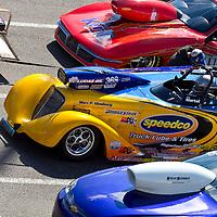 GAINESVILLE, FL - MAR 11, 2011:  The Gainesville Raceway plays host to the Tire Kingdom NHRA Gatornationals race in Gainesville, FL.