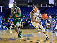 Middle Tennessee Blue Raiders guard Antonio Green (55) during the UAB Blazers at Middle Tennessee Blue Raiders college basketball game in Murfreesboro, Tennessee, Saturday, February, 15, 2020. Middle lost 79-66.<br /> Photo: Harrison McClary/All Tenn Sports
