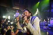 Edward Sharpe & The Magnetic Zeros performing at Webster Hall, NYC. July 23, 2010. Copyright © 2010 Matt Eisman. All Rights Reserved.