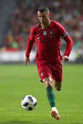 June 7, 2018 - Lisbon, Portugal - Portugal's forward Cristiano Ronaldo in action during the FIFA World Cup Russia 2018 preparation football match Portugal vs Algeria, at the Luz stadium in Lisbon, Portugal, on June 7, 2018. (Credit Image: © Pedro Fiuza via ZUMA Wire)
