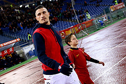 December 16, 2017 - Rome, Italy - Fabio Pisacane of Cagliari during the Italian Serie A football match Roma vs Cagliari, on December 16, 2017 at the Olimpico stadium in Rome. (Credit Image: © Matteo Ciambelli/NurPhoto via ZUMA Press)
