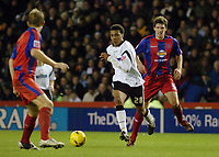 Photo: Kevin Poolman.<br />Derby County v Crystal Palace. Coca Cola Championship. 16/12/2006. Giles Barnes of Derby on a run through the Palace defence.