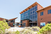 Front Entrance at the Ocean Institute in Dana Point Harbor