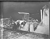 1957 - 11/11 Explosion at Border Cottages - Louth/Armagh