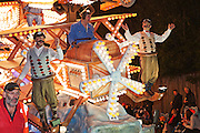 Flying Machines by Marketeers Carnival Club at the 2011 Glastonbury Chilkwell Guy Fawkes Carnival.