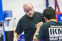 Andy. Stef Noij, KMG Instructor from the Institute Krav Maga Netherlands, takes the IKMS G Level Programme seminar today at the Scottish Martial Arts Centre, Alloa.