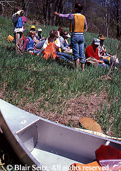 Canoe Excursion, Delaware River, PA