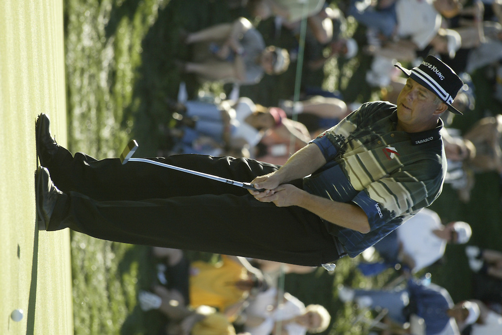 Kirk Triplett..2003 Phoenix Open.TPC at Scottsdale, Scottsdale, AZ..January  26, 2003..Photograph by Darren Carroll..X67646