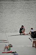 Chungju, South Korea. 2013 FISA World Rowing Championships, General Views of the  Tangeum Lake International Regatta Course. 08:42:46  Saturday  24/08/2013 [Mandatory Credit. Peter Spurrier/Intersport Images]