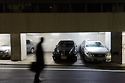 residential apartments ground floor parking garage Japan Tokyo