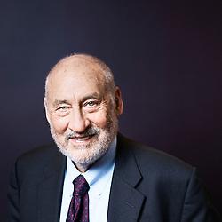 Paris, France. January 30, 2017. Joseph E. Stiglitz, posing after a lunch meeting at the AFD (Agence Française pour le Developpement). Photo: Antoine Doyen