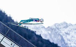 31.12.2013, Olympiaschanze, Garmisch Partenkirchen, GER, FIS Ski Sprung Weltcup, 62. Vierschanzentournee, Qualifikation, im Bild Marinus Kraus (GER) // Marinus Kraus (GER) during qualification Jump of 62nd Four Hills Tournament of FIS Ski Jumping World Cup at the Olympiaschanze, Garmisch Partenkirchen, Germany on 2013/12/31. EXPA Pictures © 2014, PhotoCredit: EXPA/ JFK