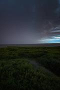Heavy rain falling down on lake Burtnieks, near Burtnieki, Vidzeme, Latvia Ⓒ Davis Ulands   davisulands.com