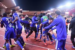 January 19, 2019 - Monaco, France - EQUIPE DE FOOTBALL DE STRASBOURG - JOIE (Credit Image: © Panoramic via ZUMA Press)