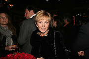 Anne Robinson, A A Gill party to celebrate the  publication of Table Talk, a collection of his reviews. Hosted by Marco Pierre White at <br />Luciano, 72 St James's Street, London,. 22 October 2007, -DO NOT ARCHIVE-© Copyright Photograph by Dafydd Jones. 248 Clapham Rd. London SW9 0PZ. Tel 0207 820 0771. www.dafjones.com.