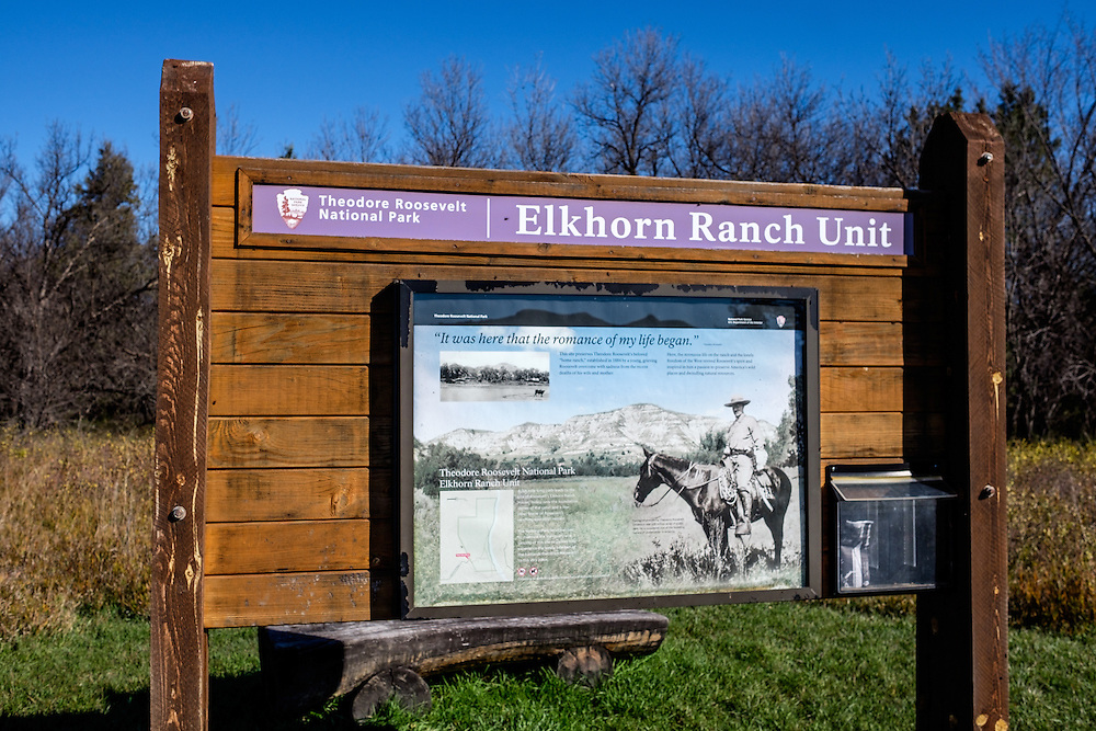 Our last stop at Teddy Roosevelt National park is where Teddy had his main home..at Elkhorn Ranch.