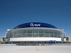 The O2 Arena in Friedrichshain in Berlin Germany