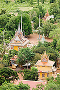 02 JULY 2006 - UDONG, CAMBODIA: Buddhist temples in the Cambodian countryside near Udong, Cambodia. Photo by Jack Kurtz / ZUMA Press