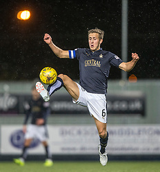 Falkirk's Will Vaulks. Falkirk 0 v 1 Hibernian, Scottish Championship game played 20/10/2015 at The Falkirk Stadium.