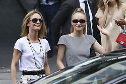 July 3, 2018 - Paris, France - Vanessa Paradis et Lily Rose Depp (Credit Image: © Panoramic via ZUMA Press)