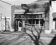 0001-C11 Beaverton Oregon. The Beaverton Bakery is still in this location, 12375 SW Broadway. 1941 photo