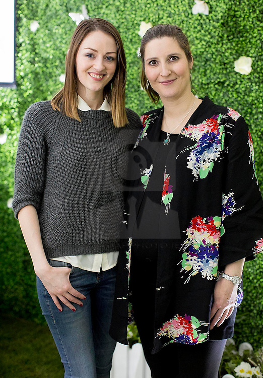 Repro Free: 18/02/2014 <br /> Natalie Burke and Laura Webb pictured at the PANDORA Secret Garden to launch its new Spring Summer 2015 collection available at PANDORA stores nationwide or online at www.republicofjewels.ie from 12 March 2015. Picture Andres Poveda