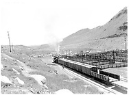 D&RGW #478 making up train near Durango stock yards.<br /> D&RGW  Durango, CO  1964<br /> RD003-065 is similar but train is now on a different track.<br /> Same image as RD003-134.  See RD003-065, RD003-216 and RD003-217 for companion photos.