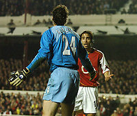 Photo: Javier Garcia/Back Page Images Mobile +447887 794393 Arsenal v Rosenborg, UEFA Champions League 07/12/04, Highbury<br />