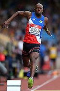 Nathan Douglas competing in the Men's Triple Jump Final.The British Championships 2016, athletics event at the Alexander Stadium in Birmingham, Midlands  on Saturday 25th June 2016.<br /> pic by John Patrick Fletcher, Andrew Orchard sports photography.