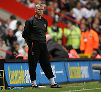 Photo: Lee Earle.<br /> Charlton Athletic v Tottenham Hotspur. The Barclays Premiership. 07/05/2007.Charlton manager Alan Pardew.