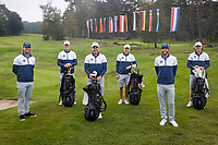 HILVERSUM -  TEAM SWEDEM / ZWEDEN ELTK Golf  2020 The Dutch Golf Federation (NGF), The European Golf Federation (EGA) and the Hilversumsche Golf Club will organize Team European Championships for men.  COPYRIGHT KOEN SUYK
