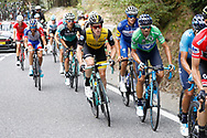 Steven Kruijswijk (NED - Team LottoNL - Jumbo) - Alejandro Valverde (ESP - Movistar) during the 73th Edition of the 2018 Tour of Spain, Vuelta Espana 2018, 20th stage Andorra Escaldes Engordany - Coll de la Gallina 97.3 km on September 15, 2018 in Spain - Photo Luca Bettini / BettiniPhoto / ProSportsImages / DPPI