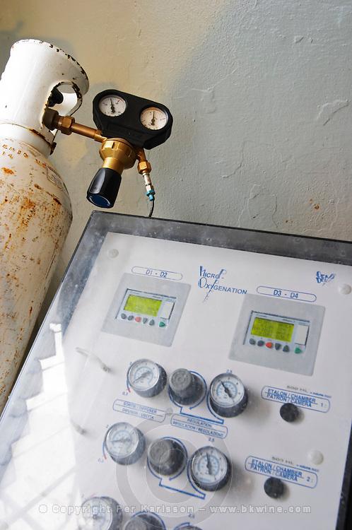 micro-oxygenation device control module adega cooperativa de borba alentejo portugal