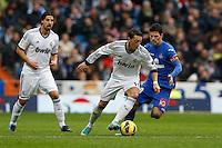 27.01.2013 SPAIN -  La Liga 12/13 Matchday 21th  match played between Real Madrid CF vs Getafe C.F. (4-0) at Santiago Bernabeu stadium. The picture show Mesut Ozil (German midfielder of Real Madrid)