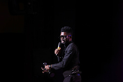 08/09/2018<br />Nigerian Comedian BasketMouth receives The Savanna Pan African Comic of the year Award  at the 2018 Savanna Comics Choice Awards, Lyric Theatre Goldreef City, Johannesburg.<br />Picture: Nhlanhla Phillips/African News Agency/ANA