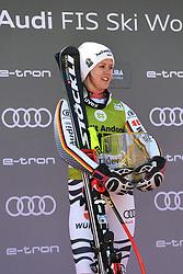 March 14, 2019 - ANDORRA - Viktoria Rebensburg (GER) in Podium Ladies Super Giant of Audi FIS Ski World Cup Finals 18/19 on March 14, 2019 in Grandvalira Soldeu/El Tarter, Andorra. (Credit Image: © AFP7 via ZUMA Wire)