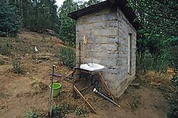 Sani Pass Youth Hostel Wash Room