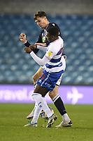 Football - 2020 / 2021 Sky Bet Championship - Millwall vs Queens Park Rangers - The Den<br /> <br /> Jake Cooper of Millwall battles for possession with Bright Osayi-Samuel of Queens Park Rangers.<br /> <br /> COLORSPORT/ASHLEY WESTERN