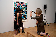 RENEE SINGH; AMII BARNARD-BAHN; ( LEOPARD PRINT) MARIE KLUTH, Swarovski Whitechapel Gallery Art Plus Opera,  An evening of art and opera raising funds for the Whitechapel Education programme. Whitechapel Gallery. 77-82 Whitechapel High St. London E1 3BQ. 15 March 2012