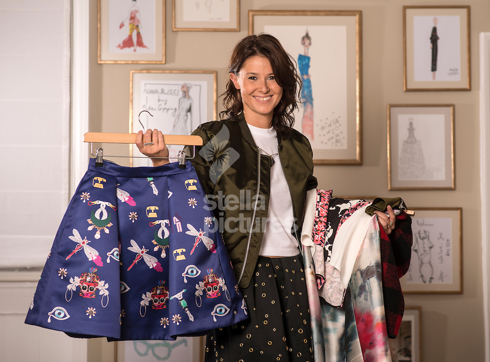 Aga Kaczorowska, personal shopper at Matchesfashion.com.<br /> Picture by Daniel Hambury/Stella Pictures Ltd +44 7813 022858<br /> 10/07/2014