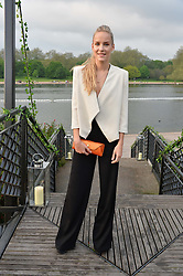 HUM FLEMING at a party to launch the Taylor Morris Explorer Collection held at the Serpentine Lido, Hyde Park, London on 11th May 2016.