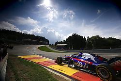 August 24, 2018 - Spa-Francorchamps, Belgium - Motorsports: FIA Formula One World Championship 2018, Grand Prix of Belgium, .#28 Brendon Hartley (NZL, Red Bull Toro Rosso Honda) (Credit Image: © Hoch Zwei via ZUMA Wire)