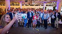 AMSTERDAM - selfie, tijdens de Algemene Ledenvergadering van de KNHB.   COPYRIGHT KOEN SUYK