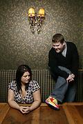 Gavin and Stacey creators and actors James Corden and Ruth Jones