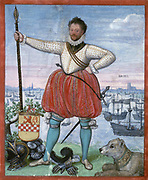 Capture of Brielle, 1 April 1572 (Frans Hogenberg)William II de la Marck (Lummen, 1542 – Bishopric of Liège, 1 May 1578) (Dutch: Willem II van der Marck) was Lord of Lumey and initially admiral of the Watergeuzen, the so-called 'sea beggars' who fought in the Eighty Years' War (1568–1648),