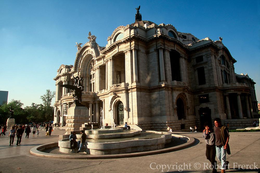 MEXICO, MEXICO CITY Bellas Artes; Ballet Folklorico