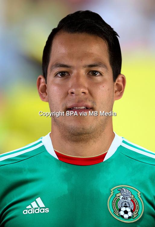 Football Fifa Brazil 2014 World Cup / <br /> Mexico National Team - <br /> Rodrigo Salinas Dorante of Mexico