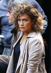October 5, 2016 - New York, New York, United States - Actress Jennifer Lopez was on the downtown Manhattan set of the TV show 'Shades of Blue' on october 5 2016 in New York City  (Credit Image: © Zelig Shaul/Ace Pictures via ZUMA Press)