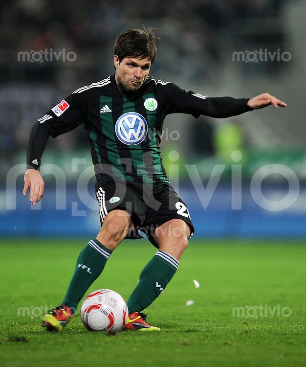 FUSSBALL   1. BUNDESLIGA   SAISON 2010/2010   13. SPIELTAG FC St. Pauli Hamburg - VfL Wolfsburg                       21.11.2010 DIEGO (VfL Wolfsburg) Einzelaktion am Ball